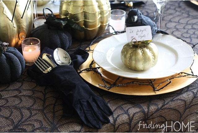 Halloween Party Idea: Try an Elegant and Sophisticated Halloween Party