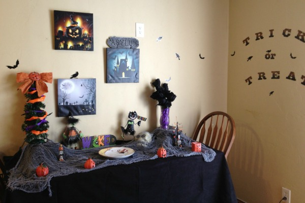 My Halloween display from 2014.