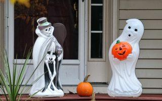 halloween blow mold decorations