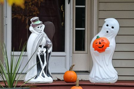 halloween blow mold decorations